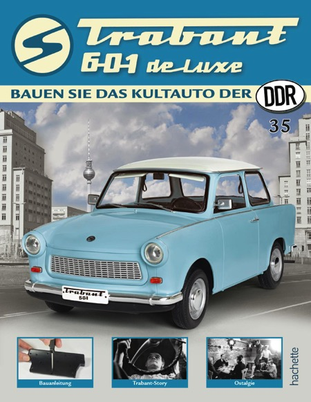 Trabant 601 de luxe – Ausgabe 035