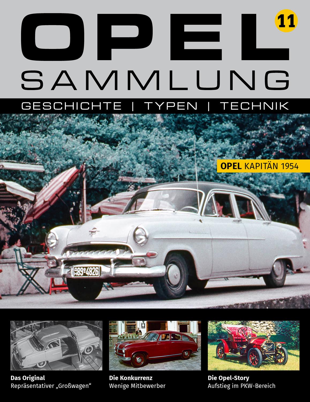 Opel-Sammlung – Ausgabe 11