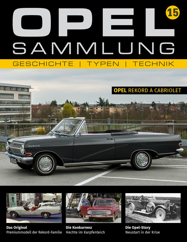 Opel-Sammlung – Ausgabe 15