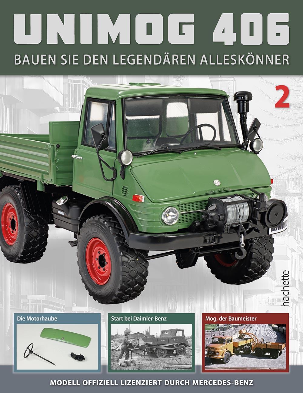 Unimog 406 - Ausgabe 002