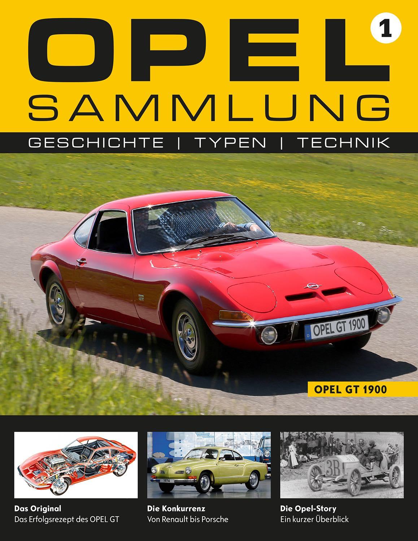 Opel-Sammlung – Ausgabe 01
