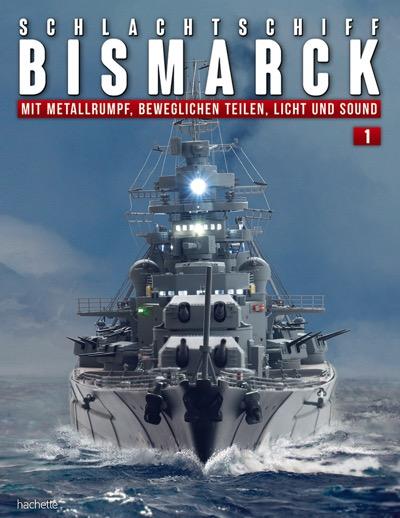 Schlachtschiff Bismarck – Ausgabe 001