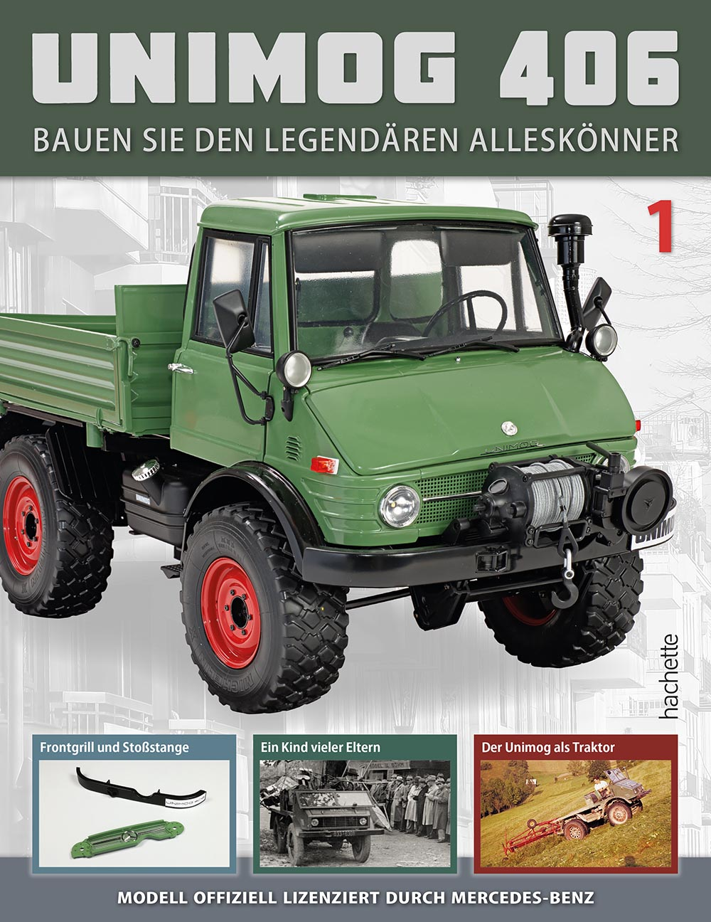 Unimog 406 – Ausgabe 001