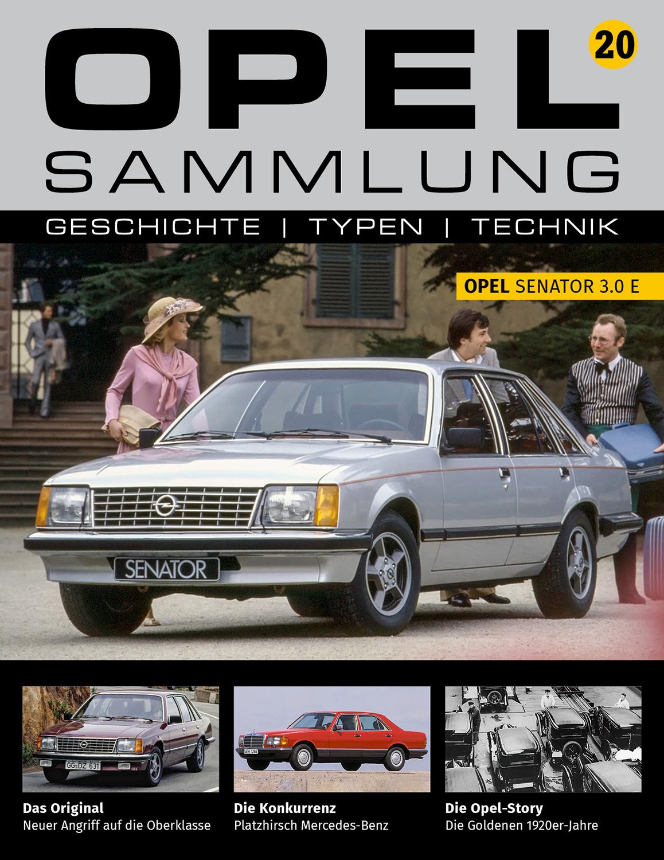 Opel-Sammlung – Ausgabe 20