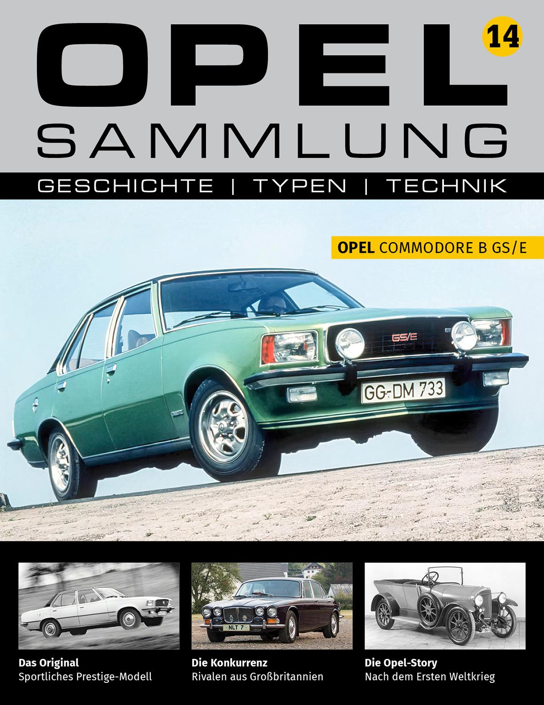 Opel-Sammlung – Ausgabe 14