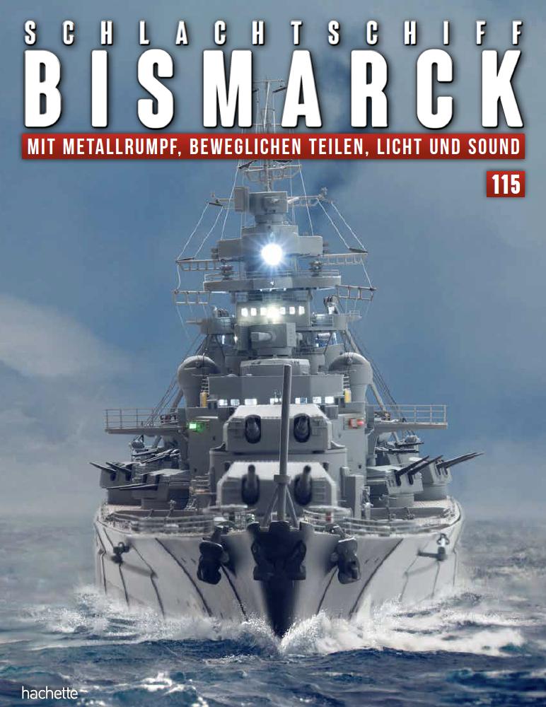 Schlachtschiff Bismarck – Ausgabe 115