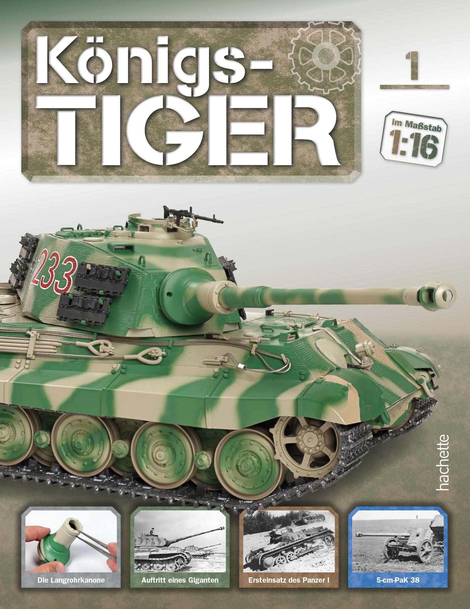 Königstiger – Ausgabe 001