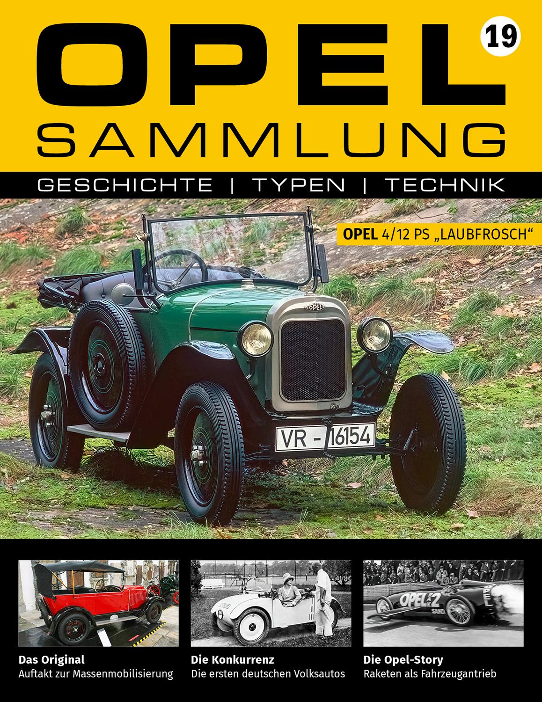Opel-Sammlung – Ausgabe 19