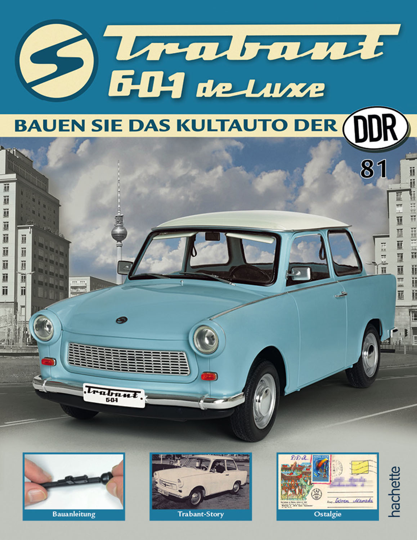 Trabant 601 de luxe – Ausgabe 081