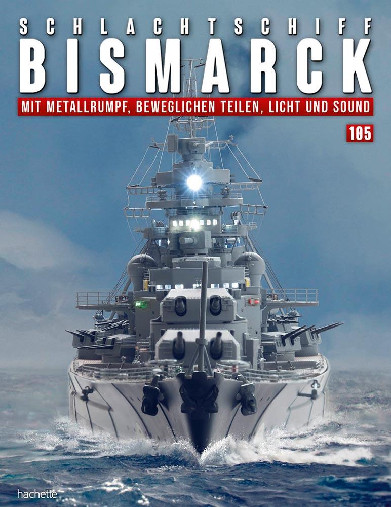 Schlachtschiff Bismarck – Ausgabe 105